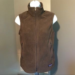 Patagonia Synchilla Brown Fleece Vest S